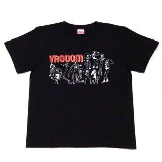 VROOOM vouge T-SHIRT/black