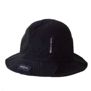CONTROL KATAKANA TENNIS HAT/black