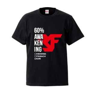KURE FLEX 60% T-SHIRT/black