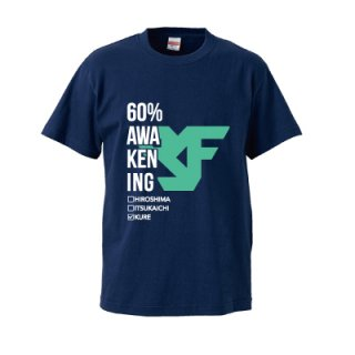 KURE FLEX 60% T-SHIRT/navy