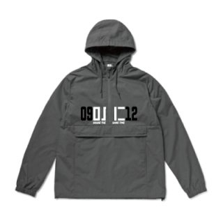 <img class='new_mark_img1' src='//img.shop-pro.jp/img/new/icons8.gif' style='border:none;display:inline;margin:0px;padding:0px;width:auto;' />FLEX × CONTROL REHEARSAL Anorak Jacket / GRAPHITE