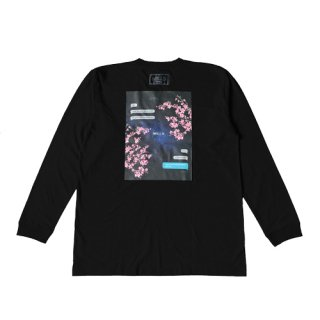 <img class='new_mark_img1' src='//img.shop-pro.jp/img/new/icons8.gif' style='border:none;display:inline;margin:0px;padding:0px;width:auto;' />cosmic cherry blossom L/S T-SHIRT black