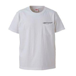 LWST T-SHIRT/white