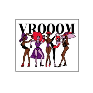 VROOOM STICKER