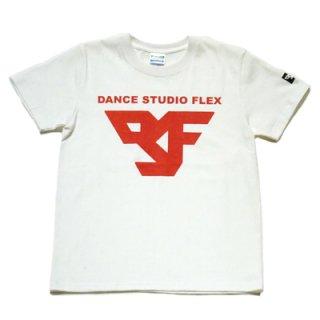 FLEX T-SHIRT/white×red