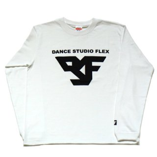 FLEX long sleeve T-SHIRT white