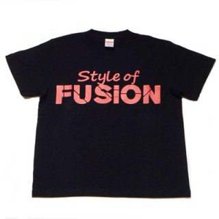 FUSION T-SHIRT/black×red