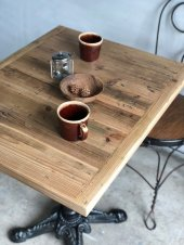Cafe table〔old lumber〕