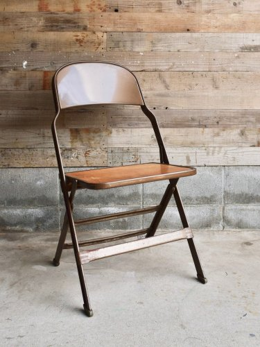 Iron fording chair