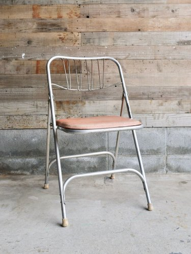Steel fording chair