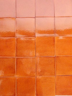 Mexican tile:amber
