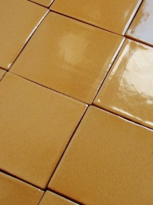Mexican tile : mustard yellow
