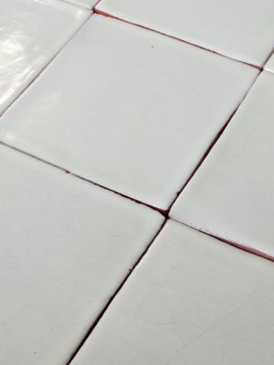 Mexican tile : white