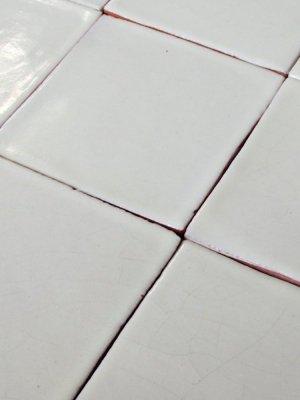 Mexican tile : white