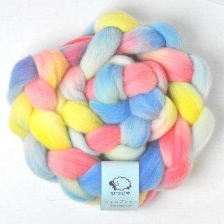 手染め羊毛【シュロプシャー・105】約120g