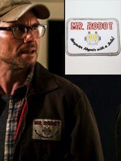 ★要チェック★米ドラマ【Mr. Robot/ミスターロボット】のパッチ/レプリカ◆