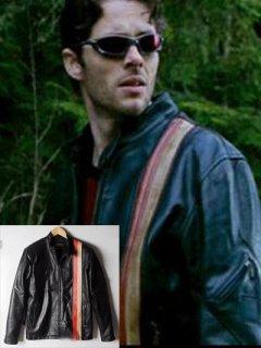 映画【エックスメン】レザージャケット『サイクロップス』(スコットサマーズ)着用 レプリカ革ジャン