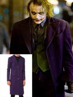 映画【ダークナイト】ジョーカー(ヒース・レジャー)着用コートのレプリカ