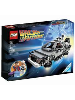 映画【バックトゥザフューチャー】『LEGO レゴ』タイムマシン デロリアン 21103