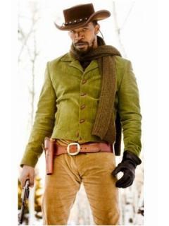 映画【ジャンゴ繋がれざる者】ジェイミー・フォックス着用ジャケットのレプリカ