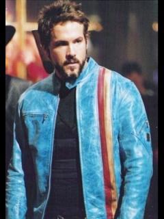 映画【ブレイド3】レザージャケット『ハンニバルキング』(ライアンレイノルズ)着用 レプリカ革ジャン