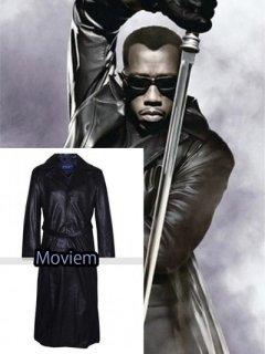 映画【ブレイド】レザーコート『ブレイド』(ウェズリースナイプス)着用 レプリカ革コート