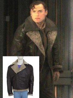 映画スカイキャプテン レザージャケット『ジョーサリヴァン』(ジュードロウ)着用 レプリカ革ジャン