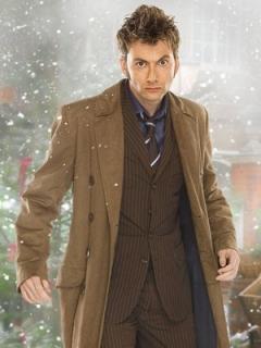 ドラマ【ドクターフー】「BBCオフィシャルライセンス」コート『10代目ドクター』着用 レプリカ
