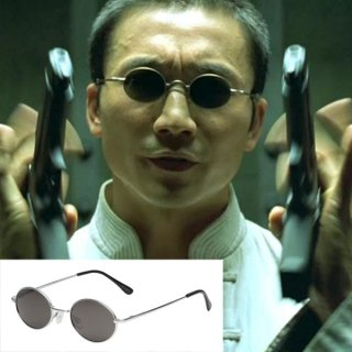 【即納】映画マトリックス リローデッド セラフ着用サングラス レプリカ
