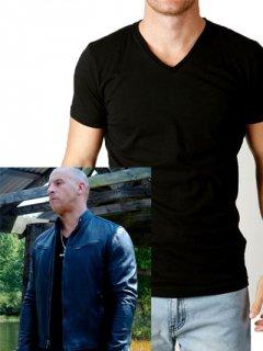 【Movieemセレクト】ヴィンディーゼル着モデル「特製インナーTシャツ」Vネック