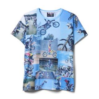 【即納】ファイトクラブ ブラッドピット着用 モトクロスTシャツ レプリカ