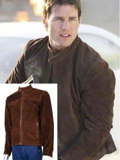 【即納・すぐに発送】『ミッションインポッシブル3』トムクルーズ着用 レザージャケット/革ジャンレプリカMI3「イーサンハント」着