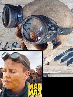★超希少★海外限定★「マッドマックス:怒りのデスロード」フュリオサ大隊長(シャーリーズ・セロン)着用ゴーグル プロップレプリカ