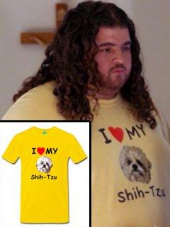 入手困難!【ロスト】ハーリー着用「シーズー犬Tシャツ」レプリカ