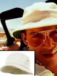 日本未入荷!【ラスベガスをやっつけろ】ラウル(ジョニーデップ)着用ハット 帽子 レプリカ