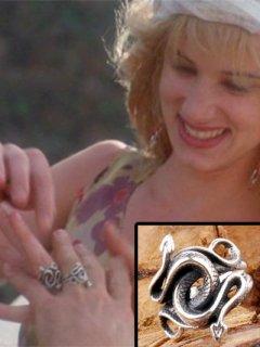 【ナチュラル・ボーン・キラーズ】ミッキー&マロリー★スネークリング★指輪★レプリカ「シルバー925」【特典付】