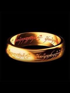 ★18金★【ロードオブザリング】★ゴールド18Kリング★指輪★レプリカ