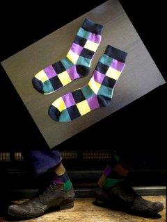 ★海外限定★【ダークナイト】ジョーカー着用ソックス★靴下★レプリカ バットマン