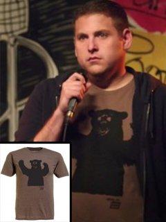 ★海外限定★22ジャンプストリート★シュミット(ジョナヒル)着用熊プリントTシャツ★