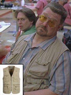 ★シャツと一緒に!★映画【ビッグリボウスキ】『ジョングッドマン』(ウォルターソブチャック)着用同スタイル/ベスト ◆