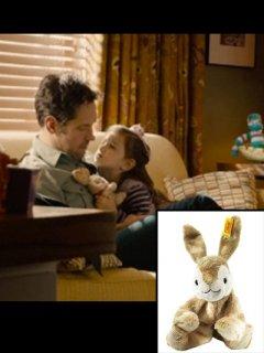★SO CUTE!★映画【アントマン】『アビーライダーフォートソン』(キャシー)愛用ウサギのぬいぐるみ◆