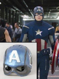 ★遂に来ました!★映画【キャプテンアメリカ】キャプテンアメリカのヘルメット/レプリカ◆
