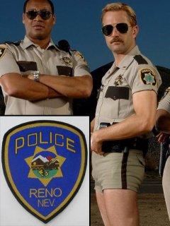 ★ギークウケ★【Reno 911!】ユニフォームワッペン/レプリカ◆