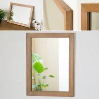 木枠の鏡 パイン材400×300ミリサイズ 木枠幅30ミリタイプ 【会員様割引5%OFF】