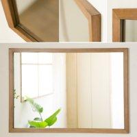 木枠の鏡 パイン材 800×600ミリサイズ 木枠幅30ミリタイプ 【会員様割引5%OFF】