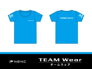 NENC 公式Tシャツ(ブルー)<img class='new_mark_img2' src='https://img.shop-pro.jp/img/new/icons24.gif' style='border:none;display:inline;margin:0px;padding:0px;width:auto;' />