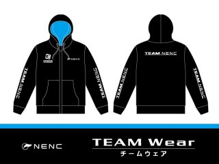 NENC 公式パーカ(ブラック&ブルー)<img class='new_mark_img2' src='https://img.shop-pro.jp/img/new/icons1.gif' style='border:none;display:inline;margin:0px;padding:0px;width:auto;' />