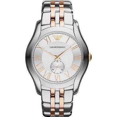 エンポリオアルマーニ腕時計/メンズ/AR1824/シルバーダイアル/クラシック/スモールセコンド
