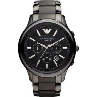 86ea507c15 エンポリオアルマーニ腕時計/メンズ/AR1451/ブラックダイアル/セラミカ/クロノグラフ 価格:39,800円(内税)