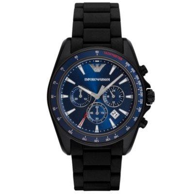 エンポリオアルマーニ腕時計/メンズ/AR6121/ブルーダイアル/スポーツ/クロノグラフ
